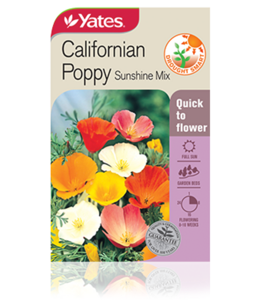 Californian Poppy Sunshine Mix - yatesgardening
