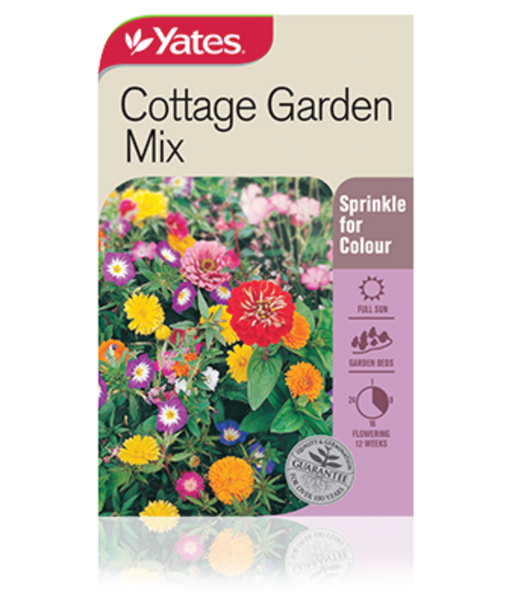Cottage Garden Mix - yatesgardening
