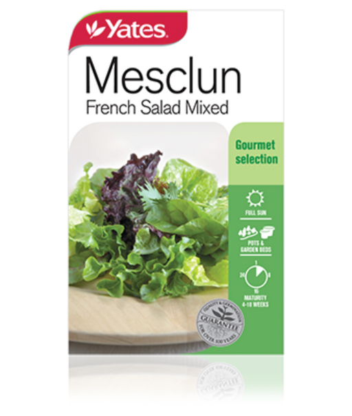Mesclun French Salad Mixed - yatesgardening
