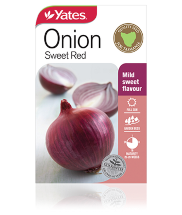 Onion Sweet red - yatesgardening