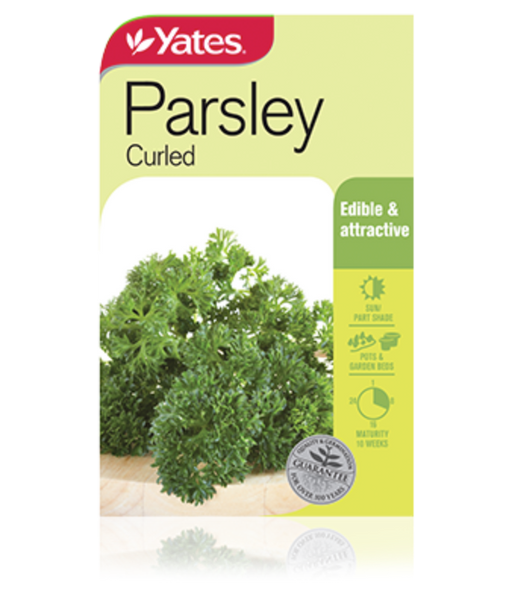 Parsley Curled - yatesgardening