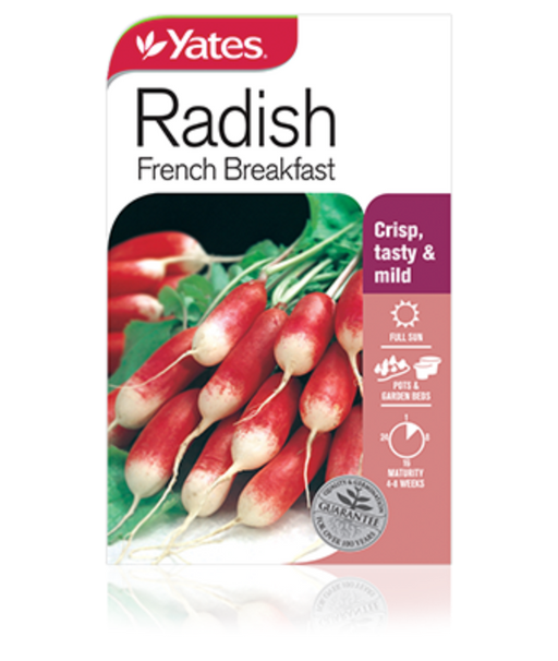 Radish French Breakfast - yatesgardening