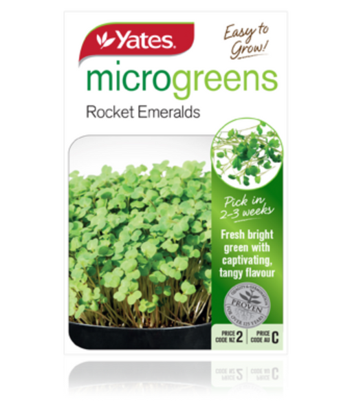 Microgreens Rocket Emeralds