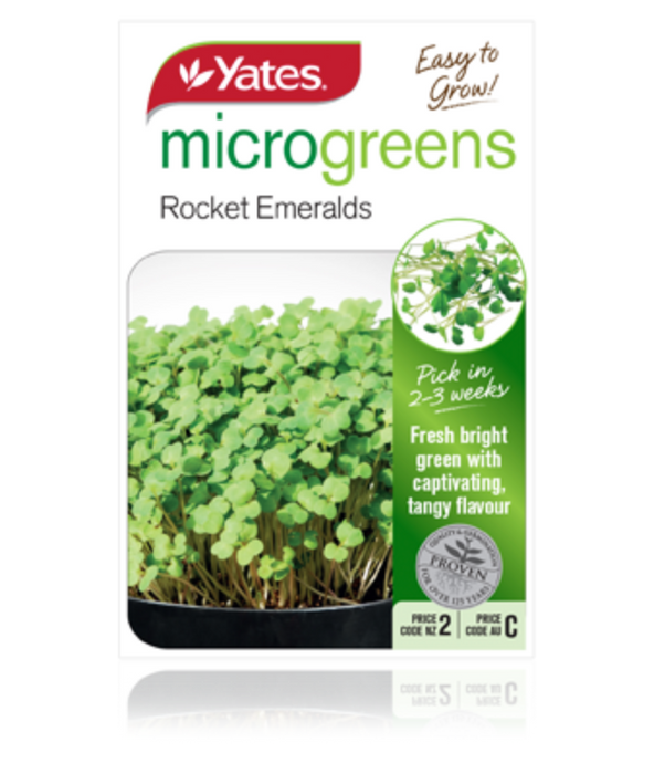 Microgreens Rocket Emeralds - yatesgardening