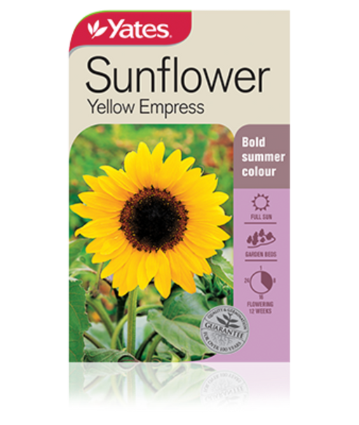 Sunflower Yellow Empress - yatesgardening