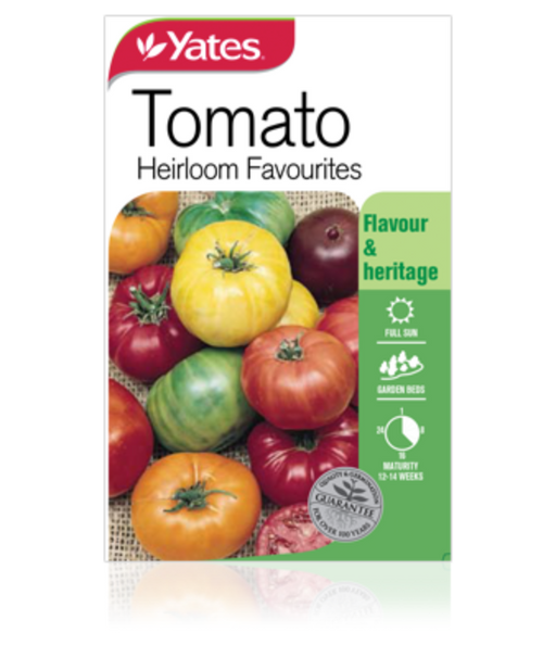 Tomato  Heirloom Favourites - yatesgardening