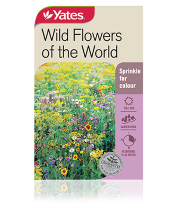 Wild Flowers of the World - yatesgardening