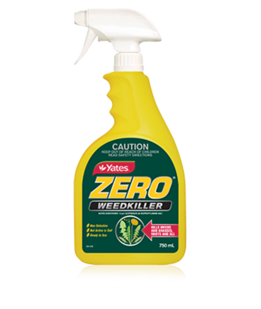 Yates Zero Weedkiller 750ml