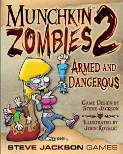 Munchkin - Zombies 2: Armed and Dangerous  (EXPANSION)