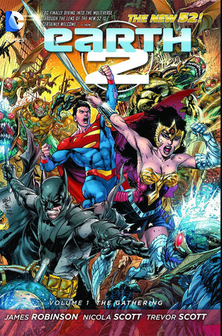 Earth 2 - New 52 Vol 01 The Gathering TP