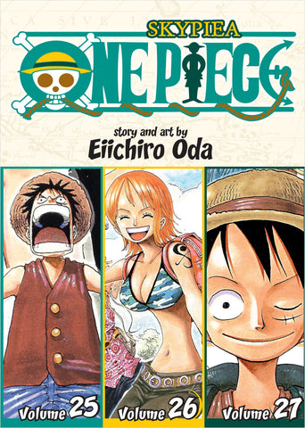 One Piece - Manga 3-in-1 Vol 009 (Volumes 25, 26, 27)