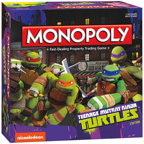TMNT - Monopoly Game