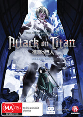 Attack on Titan  - Anime Collection 2 DVD [REGION 4]