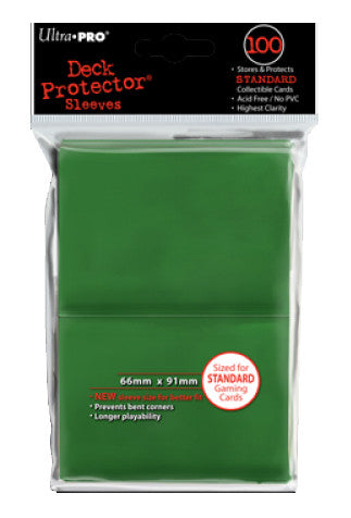 Ultra Pro Deck Protector - Standard 100ct Green