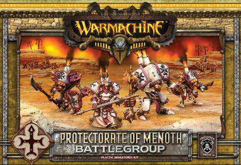 Warmachine - Protectorate of Menoth Battlegroup Plastic Miniatures Kit