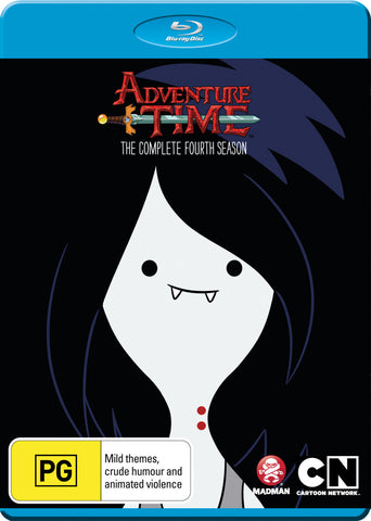 Adventure Time - The Complete Fourth Season Blu-Ray [REGION A,B,C]
