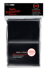 Ultra Pro Deck Protector - Standard 100ct Black