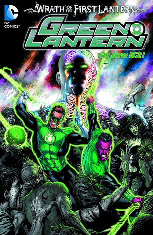 Green Lantern - New52: The Wrath Of The First Lantern TP