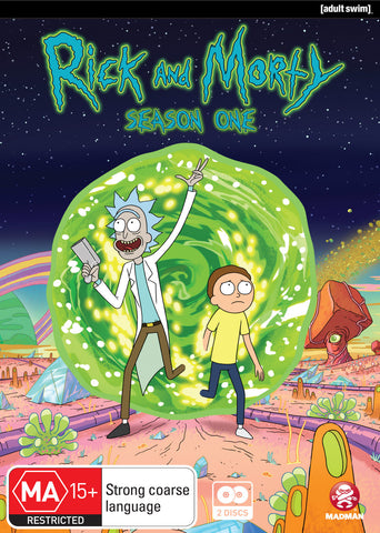 Rick and Morty - Season One DVD [Region 4]