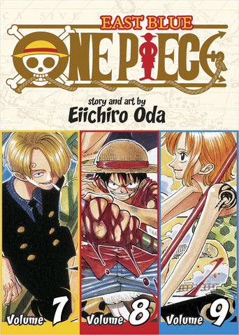 One Piece - Manga 3-in-1 Vol 003 (Volumes 7, 8, 9)