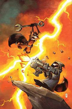 Rocket Raccoon - Issue #4