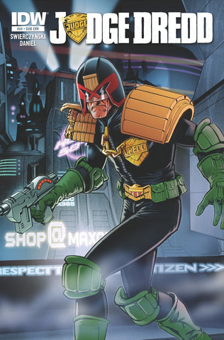 Judge Dredd - Issue #24 SUB VARIANT