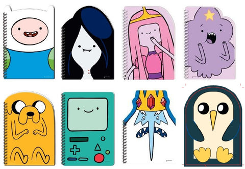 Adventure Time - Assorted Character Notepads
