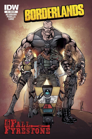 Borderlands - The Fall of Fyrestone Issue #3 SUB VARIANT