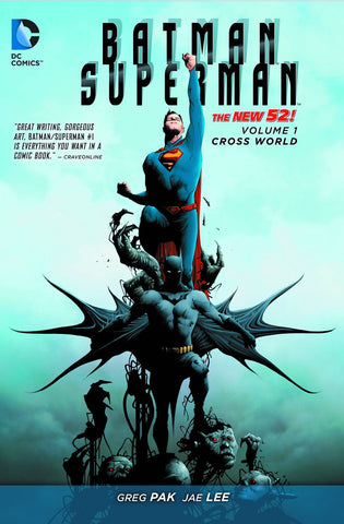 Batman Superman - New 52 Vol 01 Cross World  TP