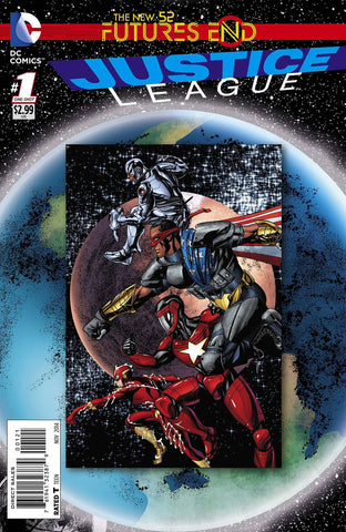 Justice League - Futures End Issue #1 Standard Edtion
