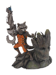 Guardians of the Galaxy - 1/10 Scale Rocket Raccoon & Groot ARTFX+ Statue