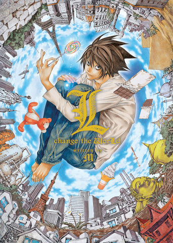 DEATH NOTE - NOVEL  L CHANGE THE WORLD