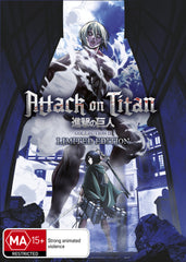 Attack on Titan  - Anime Collection 2 DVD LIMITED EDITION [REGION 4]