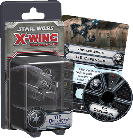 Star Wars - X-Wing Minatures Game Tie Defender Expansion Pack
