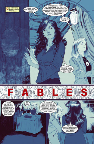 Fables - Issue #145