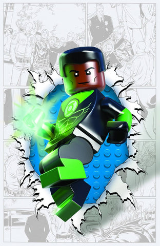 Green Lantern Corps - New 52 #36 LEGO VARIANT COVER