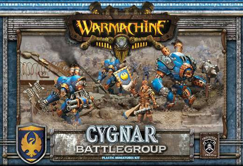 Warmachine - Cygnar Battlegroup Plastic Miniatures Kit