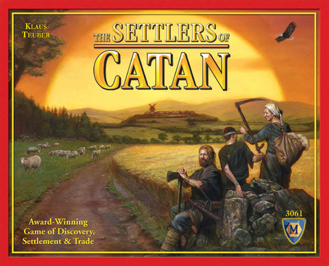 Settlers of Catan, The - Board Game