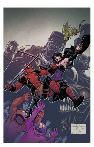 Deadpool - Dracula's Gauntlet Comic Issue #5 of 7