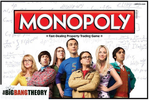 Big Bang Theory - Monopoly Game