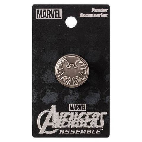 Avengers  - SHIELD Eagle Logo Pewter Lapel Pin