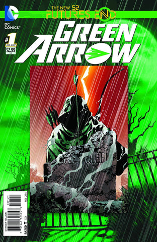 Green Arrow - Furtures End Comic Issue #1 Standard Edition