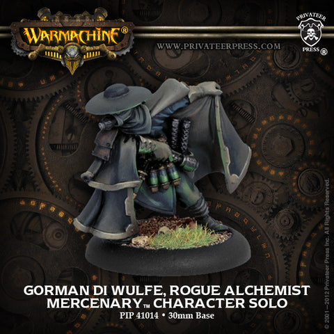 Warmachine - Mercenaries Gorman di Wulfe, Rogue Alchemist Solo