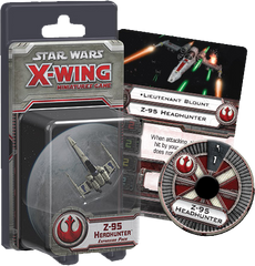 Star Wars - X-Wing Minatures Game Z-95 Headhunter Expansion Pack