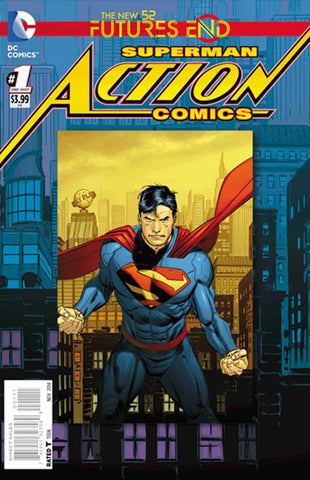 Action Comics - Futures End Comic Issue #1 LENTICULAR COVER