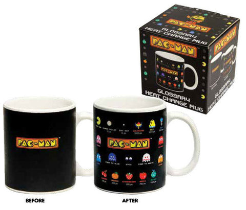 Pac Man - Glossary Heat Change Mug