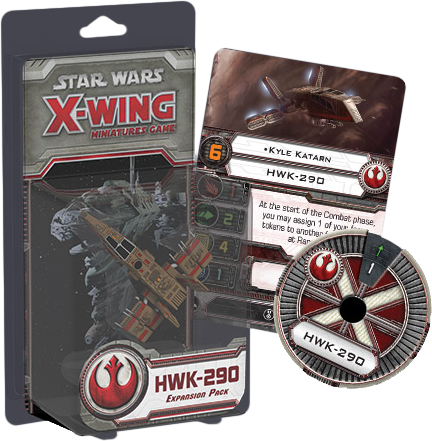 Star Wars -  X-Wing Miniatures Game HWK-290 Expansion Pack