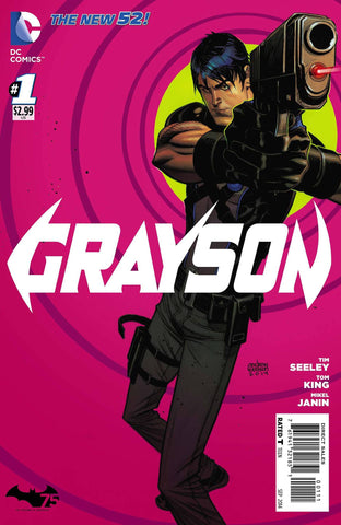 Grayson Comic Issue #1 New 52
