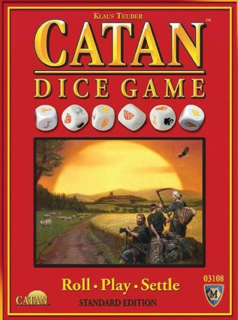 Settlers of Catan, The - Dice Game