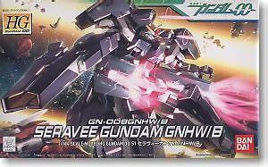 Mobile Suit Gundam - 1/144 HG Seravee GNHW/B  Model Kit
